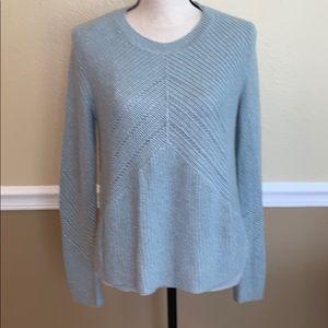 Lucky Brand light blue knit long sleeve top
